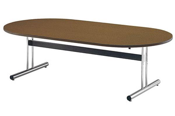 ミーティングテーブル 楕円テーブル 会議 打ち合わせ 用