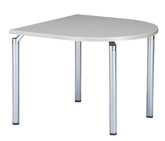 ミーティングテーブル 半楕円形 打合せ用 特価 GK-0909Q ルキット オフィス家具 インテリア