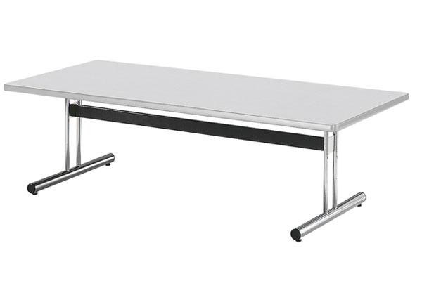 ミーティングテーブル 対立脚 T字 T型 脚 会議テーブル