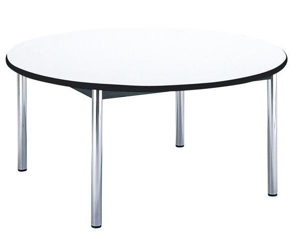ミーティングテーブル 円卓 円形 丸型 天板 BZ-1500R LOOKIT オフィス家具 インテリア
