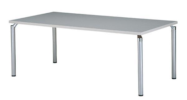 ミーティングテーブル 1800mm 会議室 デスク つくえ 机 GK-1890K LOOKIT オフィス家具 インテリア