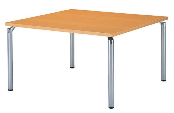 ★新品★ ミーティングテーブル 正方形 真四角 ダイニング用 特価 GK-1212K LOOKIT オフィス家具 インテリア