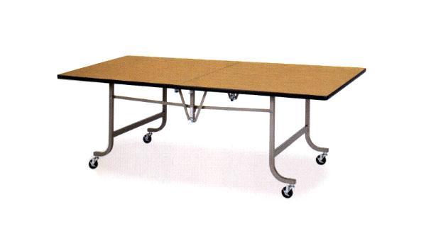 折り畳みテーブル フライト式 作業用 ワークテーブル 机 OXN-1890 LOOKIT オフィス家具 インテリア