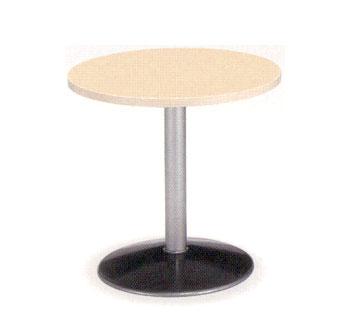 ラウンジテーブル 丸型 円形 天板 脚 リビングスペース ルキット オフィス家具 インテリア
