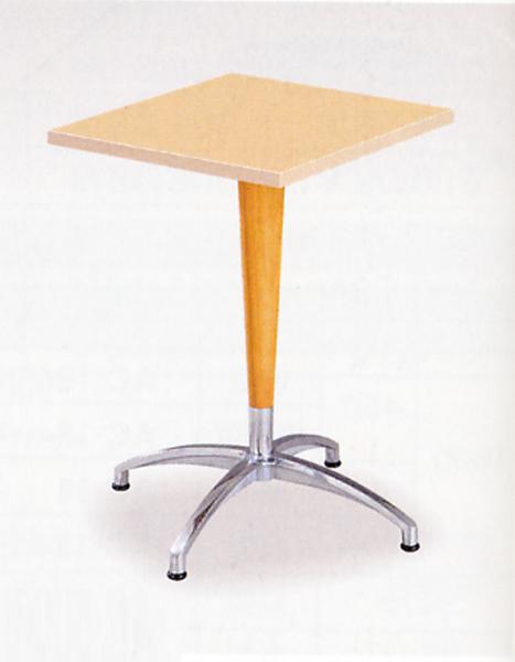 ラウンジテーブル 休憩所 喫煙所 1本脚テーブル つくえ HJ-0707K LOOKIT オフィス家具 インテリア