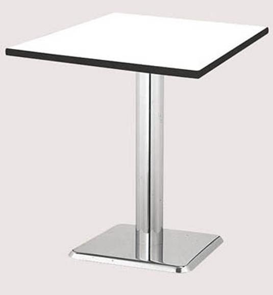 ラウンジテーブル 正方形天板 打ち合わせ 打合せ 用 机 HW-0606KK LOOKIT オフィス家具 インテリア