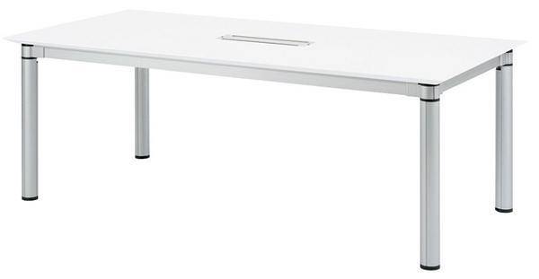 会議テーブル KSJ-2110W 配線 ワイヤリング デスク