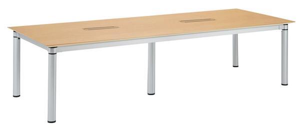 会議テーブル KSJ-3012W シック オシャレ ルキット オフィス家具 インテリア