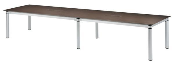 会議テーブル KSJ-4012W 特大 複数人 ミーティング LOOKIT オフィス家具 インテリア