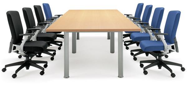 会議テーブル NEB-3612 シンプル エグゼクティブ ルキット オフィス家具 インテリア