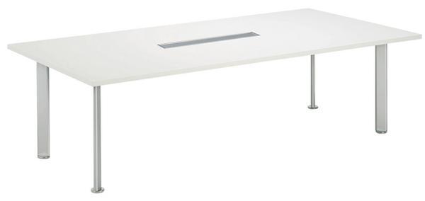 会議テーブル NEB-2110W 店舗 電源 会議室 机