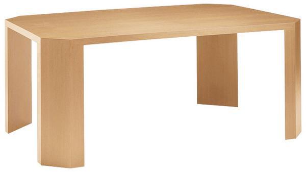 会議テーブル KKE-1212 小型 デスク 木目 社長室