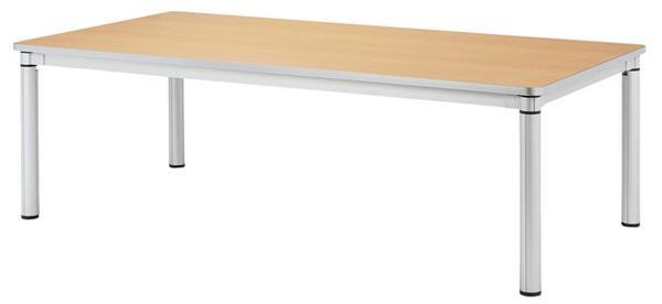 会議テーブル KSY-2412 シャープ 大学 学校用 LOOKIT オフィス家具 インテリア