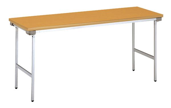 折り畳み会議テーブル KU-1560AN デスク シンプル LOOKIT オフィス家具 インテリア
