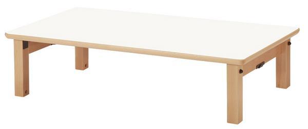 【最大1万円クーポン3/21 20:00~3/28 1:59】座卓 KWO-1260 小型 テーブル お遊戯 お稽古