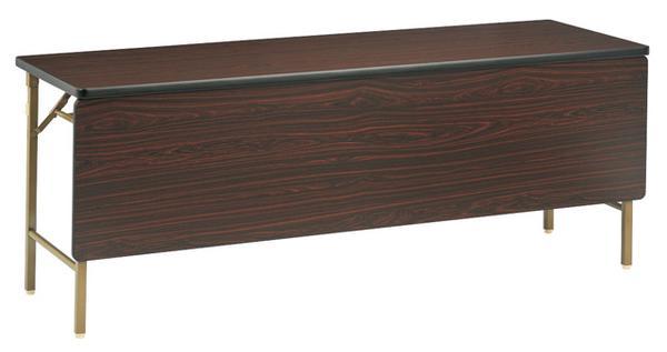 ★新品★ 折り畳み会議テーブル DKT-1845PS 幕板 パネル 机 LOOKIT オフィス家具 インテリア