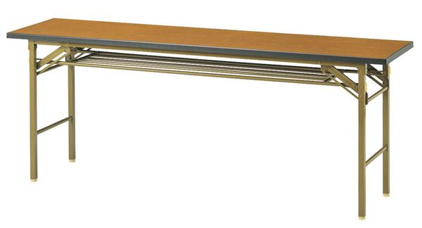 ★新品★ 折り畳み会議テーブル HS-1845K 集会 店舗 売れ筋 ルキット オフィス家具 インテリア