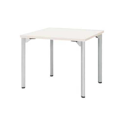 ミーティングテーブル 幅900mm 奥行900mm 角型 アジャスター付き 正方形 会議テーブル オフィス オフィス家具 オフィステーブル 休憩スペース MDL-0909K