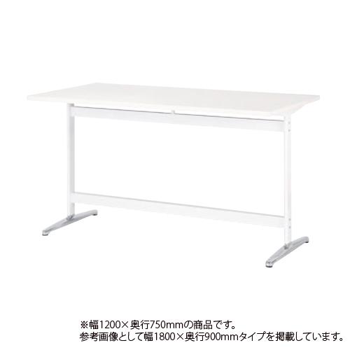 会議テーブル 幅1200mm 奥行750mm 高さ1000mm 角型 ミーティングテーブル 立位 会議室 ラウンジ ハイテーブル オフィステーブル オフィス家具 STT-1275K