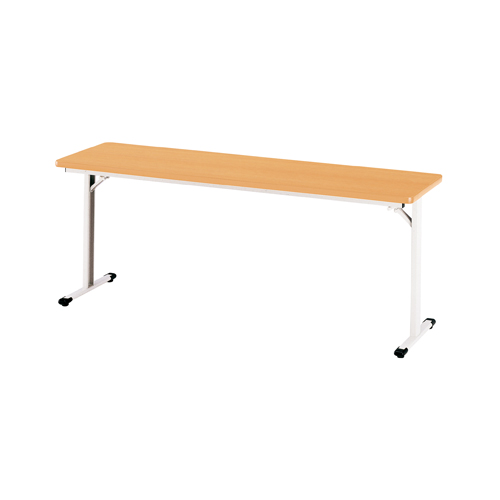 折りたたみ会議テーブル 棚なし 会議テーブル オフィステーブル 作業台 研修 会議 フォールディングテーブル オフィス家具 テーブル TW-1845