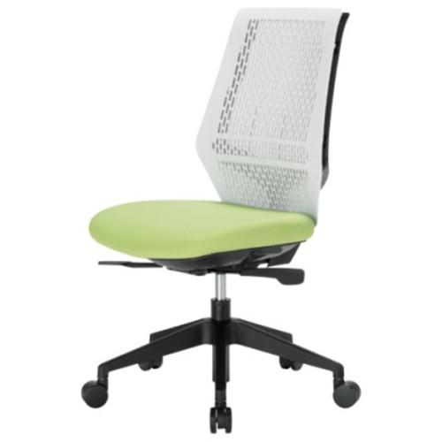 オフィスチェア 肘なし ロッキング OAチェア デスクチェア パソコンチェア オフィス 布張り メッシュ張り 椅子 キャスター付き 昇降式 シンプル YC-200