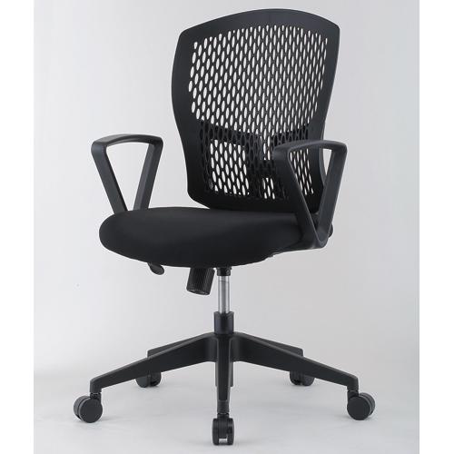 【法人限定】 デスクチェア 肘付き パソコンチェア 作業用 D4C-07AT ルキット オフィス家具 インテリア