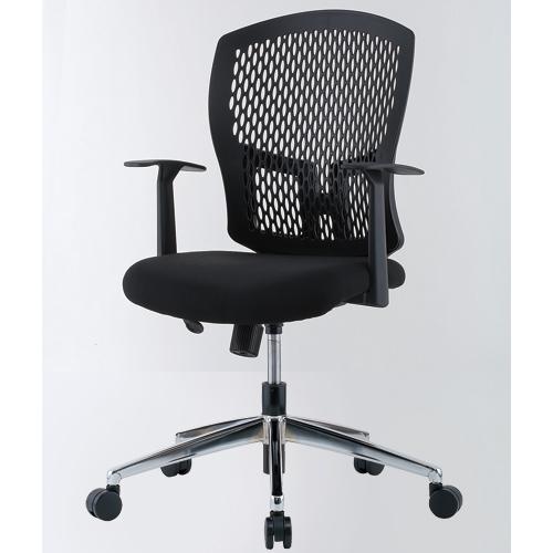 【法人限定】 デスクチェア 肘付き オフィスチェア 椅子 D4C-07MAT ルキット オフィス家具 インテリア