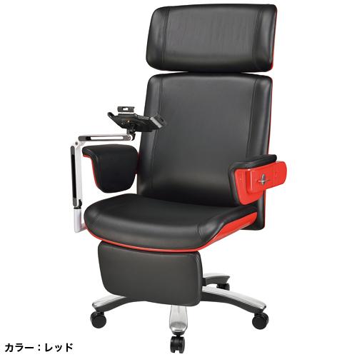 デスクチェア タブレット台 フットレスト EVE-12A LOOKIT オフィス家具 インテリア