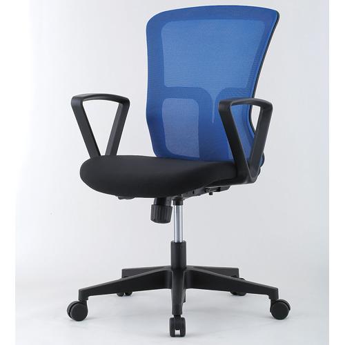 メッシュチェア 肘付き オフィス 仕事用 イス GSM-10A LOOKIT オフィス家具 インテリア