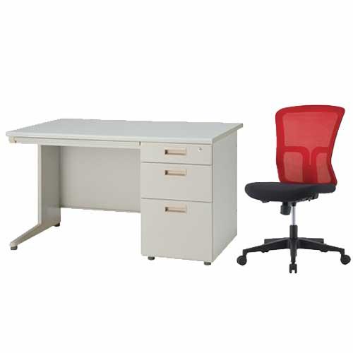 【法人限定】 デスク チェア セット 2点セット 椅子 IDS-127-3SC-6