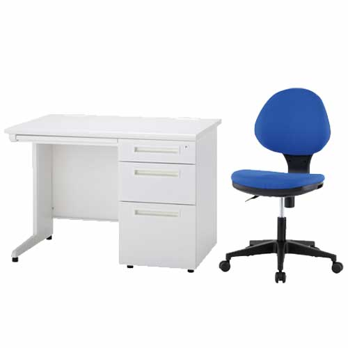 デスク チェア セット 片袖 引き出し ODS-107-3SC-1 ルキット オフィス家具 インテリア