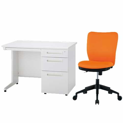 デスク チェア セット 袖机 オフィス ODS-107-3SC-2 ルキット オフィス家具 インテリア