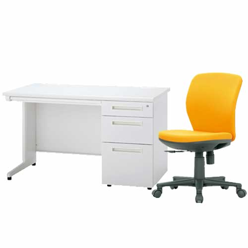 ★新品★ デスク チェア セット 袖机 椅子 事務 ODS-127-3SC-5 LOOKIT オフィス家具 インテリア