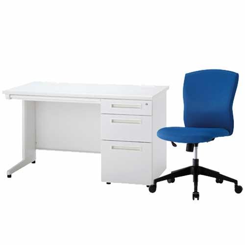 デスク チェア セット 事務机 オフィス ODS-127-3SC-7 LOOKIT オフィス家具 インテリア