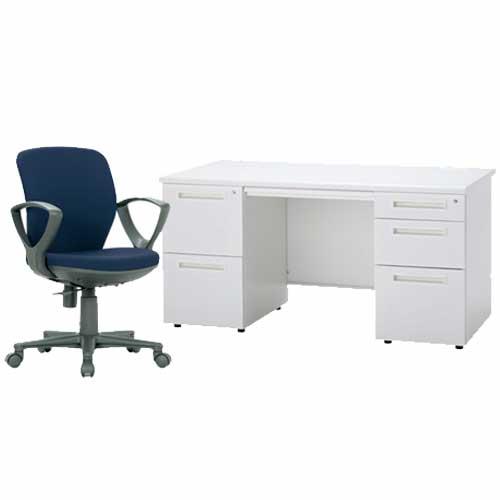 ★新品★ デスク チェア セット 2点 オフィス ODS-147-2L3RSC-5 LOOKIT オフィス家具 インテリア