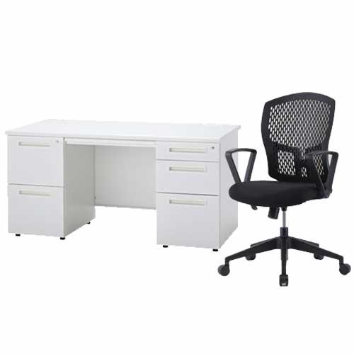 デスク チェア セット 椅子 事務机 ODS-147-2L3RSC-8 LOOKIT オフィス家具 インテリア