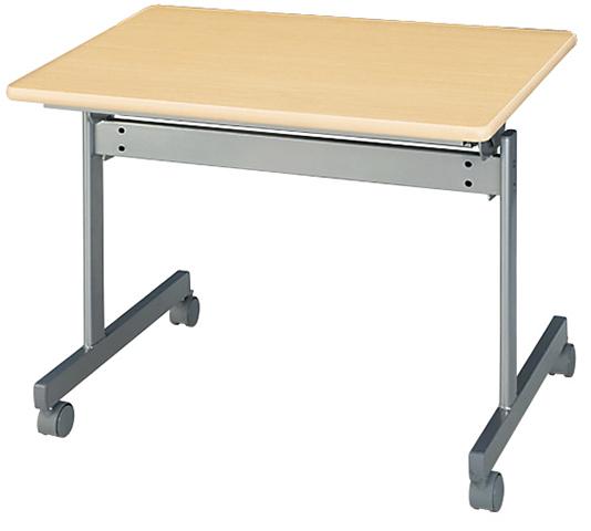【法人限定】 ★新品★フォールディングテーブル 1人用 平机 つくえ KS-7545 LOOKIT オフィス家具 インテリア