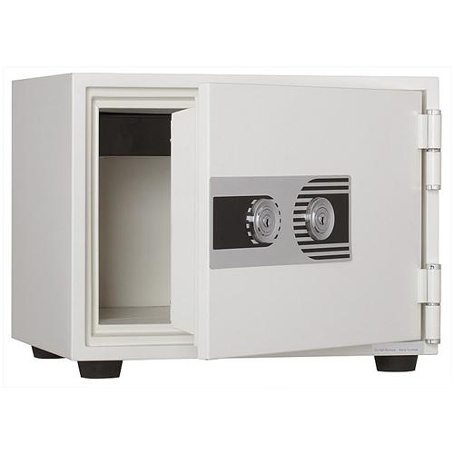 【法人限定】 耐火金庫 2キータイプ 17L A4サイズ 家庭 PHDI-30W LOOKIT オフィス家具 インテリア