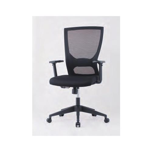 オフィスチェア 肘付き 可動肘付 肘付チェア メッシュチェア オフィス家具 デスクチェア PCチェア ミーティングチェア チェア 椅子 事務所 GINK-110M