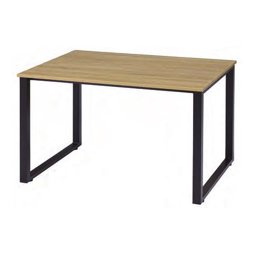 【11/15限定最大1万円クーポン&カード利用でポイント5倍】 ミーティングテーブル 幅1200mm 長方形天板 古木カラー 会議用テーブル オフィステーブル ワークテーブル 作業テーブル 平机 テーブル IRG-N1290