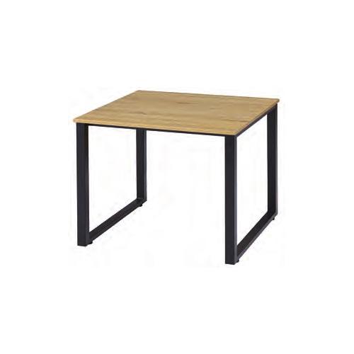 ミーティングテーブル 会議用テーブル 正方形テーブル スチール脚 オフィス家具 オフィステーブル ワークテーブル 事務所 会議室 打ち合わせスペース IRG-N9090