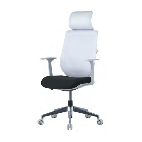 オフィスチェア メッシュチェア 肘付き カラフル かわいい ハイバック ヘッドレスト キャスター付き ロッキング PCチェア オフィス 会議室 チェア 椅子 KRG-32