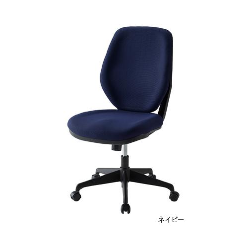 【法人限定】オフィスチェア 送料無料 布張りチェア 肘なしタイプ デスクチェア モールドウレタン オフィス家具 PCチェア チェア LUX-39