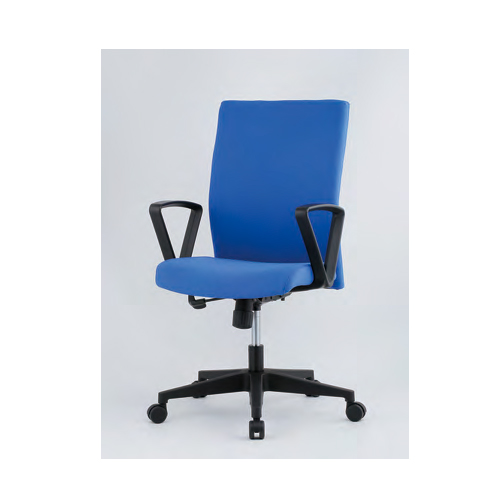 オフィスチェア 肘付き 固定肘付き 布張りチェア キャスター付きチェア デスクチェア 事務椅子 オフィス 事務所 MLC-16AT