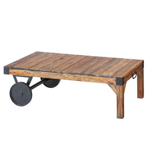 センターテーブル ローテーブル 木材 机 TTF-116