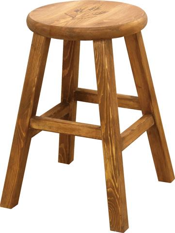 【4月9日20:00~16日1:59まで最大1万円OFFクーポン配布】 スツール 2脚セット 丸型 円形 木製 椅子 イス CFS-515S LOOKIT オフィス家具 インテリア