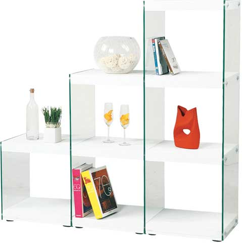 ステアラック 3段 階段 シェルフ 飾り棚 店舗 HAB-702 LOOKIT オフィス家具 インテリア