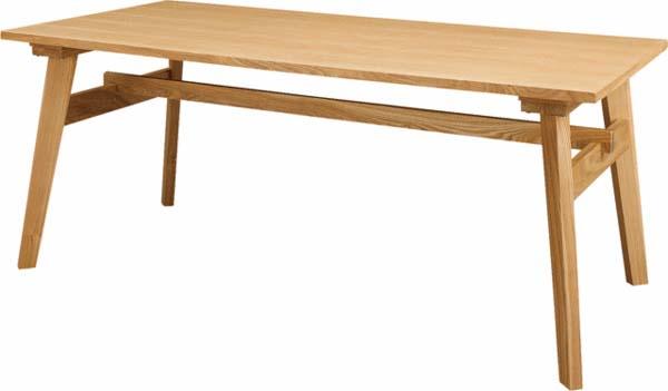 ダイニングテーブル 木製 レトロ インテリア RTO-745T ルキット オフィス家具 インテリア