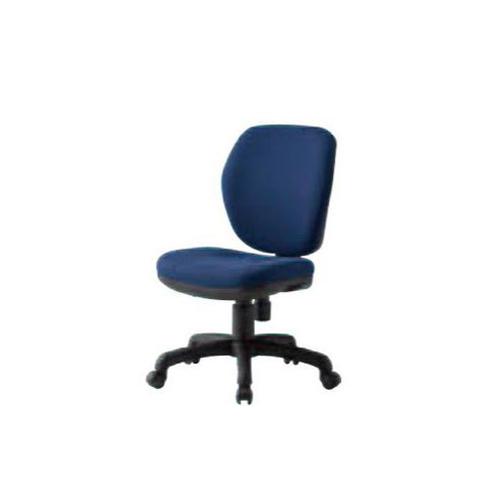 オフィスチェア ミドルバックタイプ 肘なしチェア 事務チェア デスクチェア 布張りチェア シンプル ミーティング 事務所 オフィス 会議室 会社 椅子 FST-77
