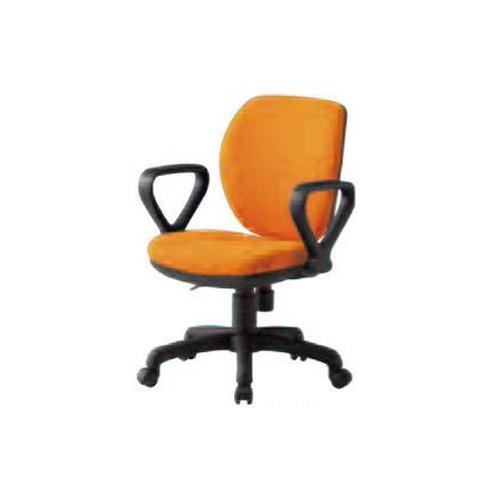 オフィスチェア ミドルバックタイプ 布張り 肘付 固定肘つきチェア オフィス家具 ミーティングチェア デスクチェア オフィス 会社 事務所 チェア 椅子 FST-77A